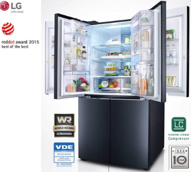 Prices of LG Fridges in Ghana