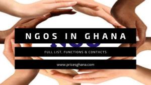 NGOs In Ghana