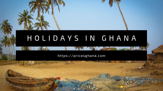 holidays in ghana