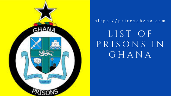 list of prisons in ghana