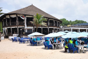 restaurant in Labadi Beach ghana