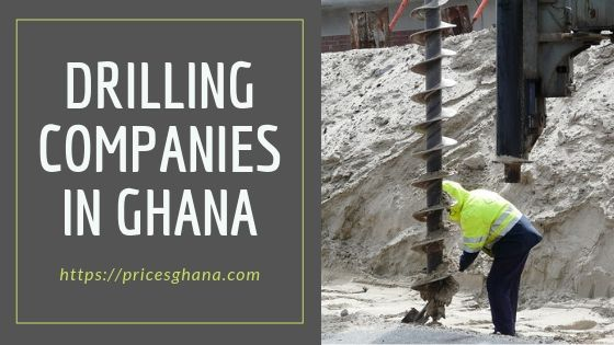 drilling companies in ghana