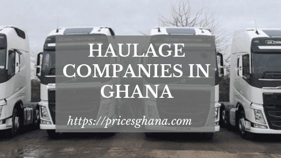 haulage companies in ghana