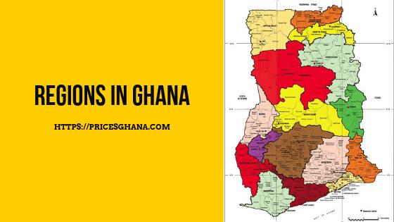 regions in ghana