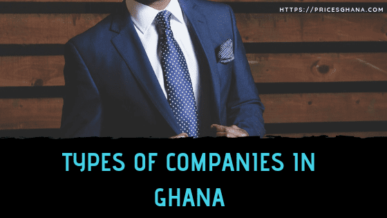 types of companies in ghana