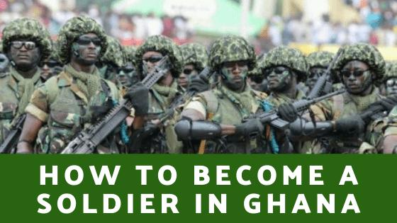 Soldier in Ghana