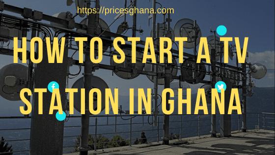 TV Station in Ghana