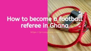 football referee in ghana