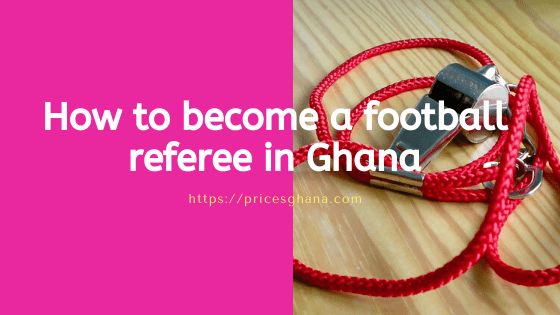 football referee in ghana