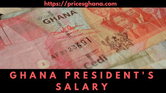 ghana president salary