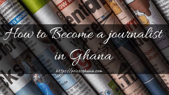 journalist in Ghana