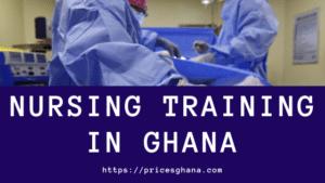 nursing training in ghana