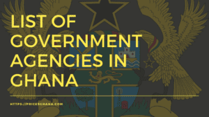 Government Agencies in Ghana